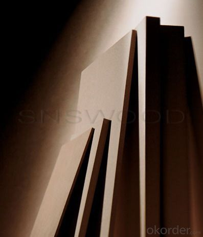 Plain MDF (1830*2750mm Medium Density Fiberboard)