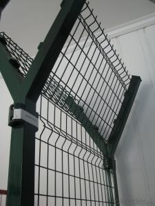 Fence With Steel Grade