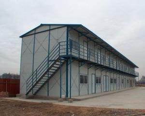 Low-cost high-quality color steel sandwich panel house