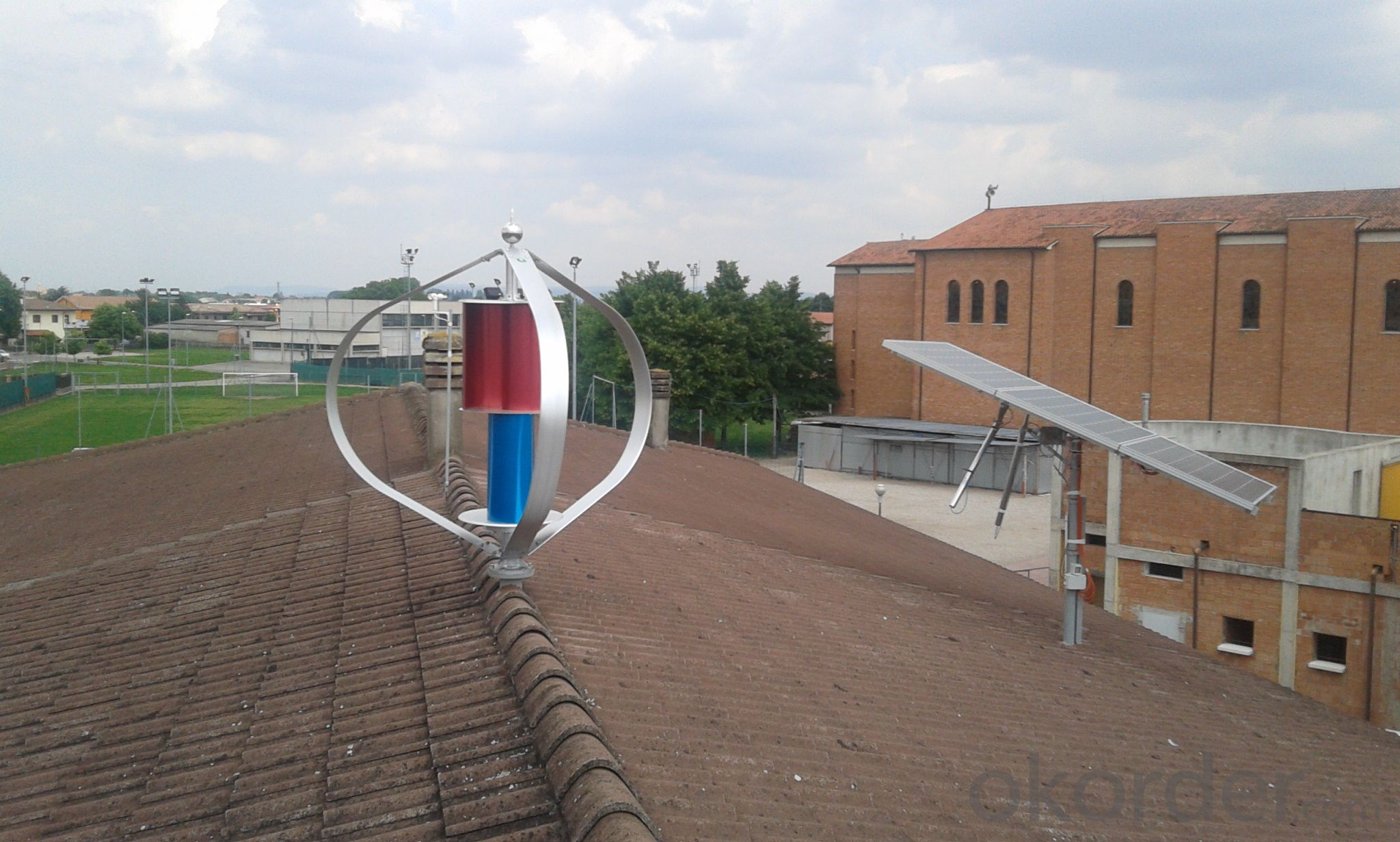 Maglev Vertical Axis Wind Turbine 400W