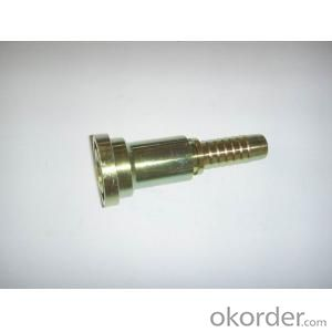 Hydraulic hose fittings ISO DN08