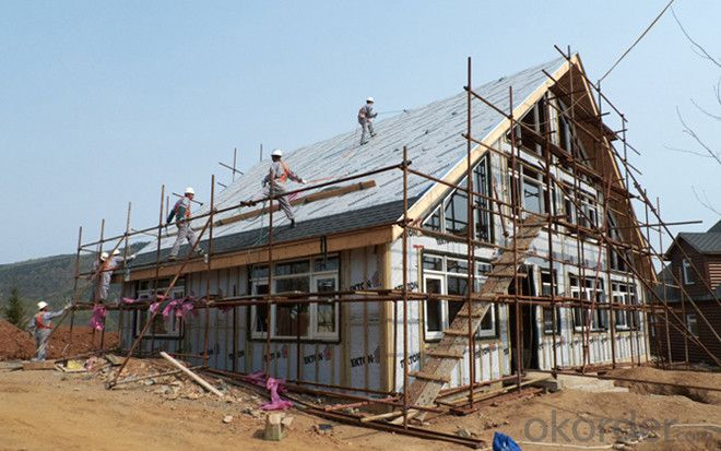 Prefabricated Villa House with Good Quality From China