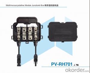 Unpotting Junction Box for Solar Module PV-RH701