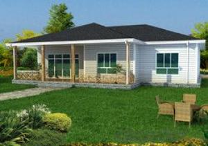 Delin Prefabricated House G+0 Villa 196.02 Sqm-09