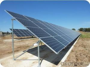 Ground screw solar mounting system