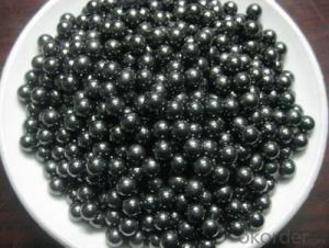 Black SIC ball