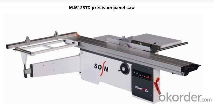 China CNC CE Panel Saw machine wood cutting saw