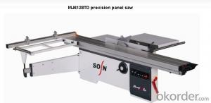 Woodworking Machine High Precision Panel Saw