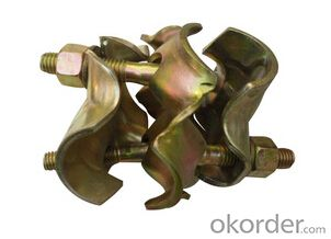 Italian Type Pressed Double Couplers/scaffolding clamp