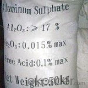 Aluminium Sulphate/Aluminum Sulfate/Alum Flocculant