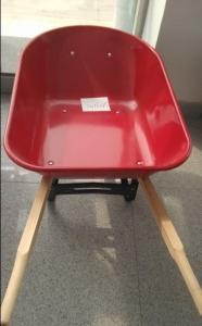 Metal wheelbarrow for construction ,garden and farm :