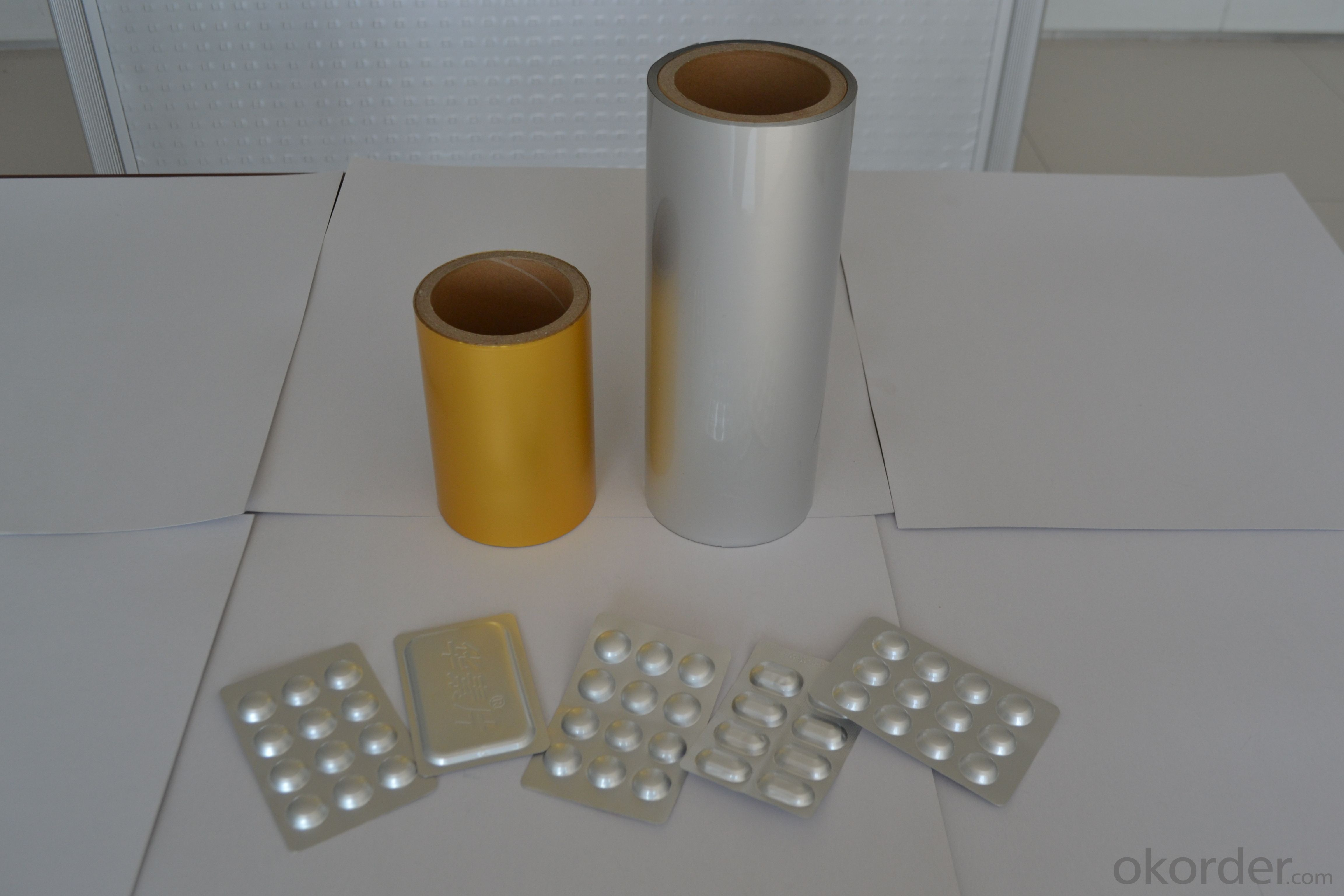 Pharma Aluminium Foil for Blister Medical Packaging