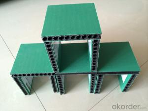 hollow plastic construction formwork