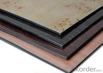 Wooden looks composite panel