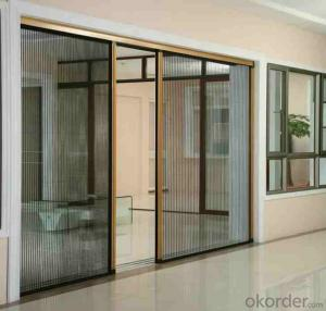 Pleated Retractable Screen Window and Door System