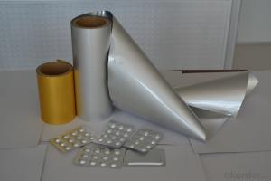 Pharmaceutical Cold Formed Alu Foil for Packaging Tablets and Capsules