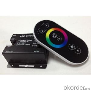 RF touch remote control RGB controller