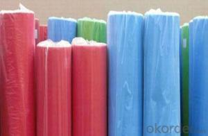 PP Spunbonded Nonwoven Fabric different color