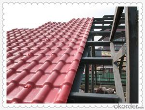 Cheap Synthetic spanish roof tile