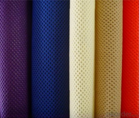 Factory Supply Colorful PP Spunbonded Nonwoven Fabric