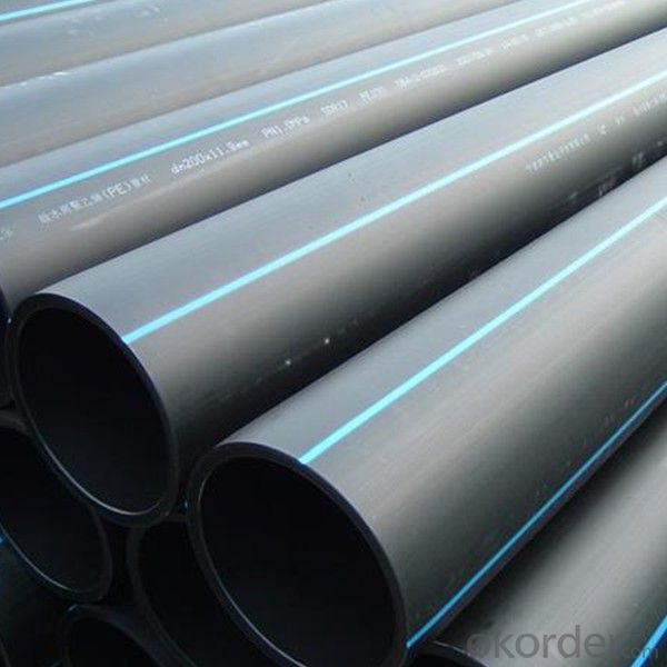 DN140mm HDPE Pipes for Water Supply China Manufacturer