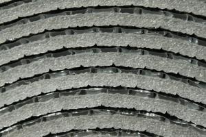 Aluminum faced foam thermal insulation