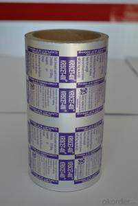 Pharmaceutical Aluminum Foil for Medicine Packaging