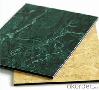 Marble looks composite panel