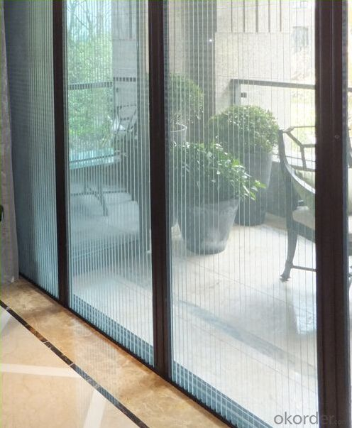 Plisse Insect Screen Door with Good Quality