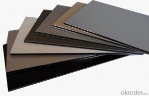 Aluminum composite panel for decoration