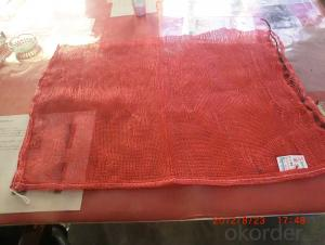 Mesh bag for vegetables and fruits 50x80cm