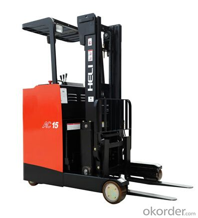 G Series 1.5T AC Electric Reach Truck - Stand-up Type