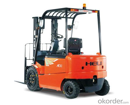 G Series 3-3.5T AC Four-Wheel Electric Counterbalaned Forklift Trucks