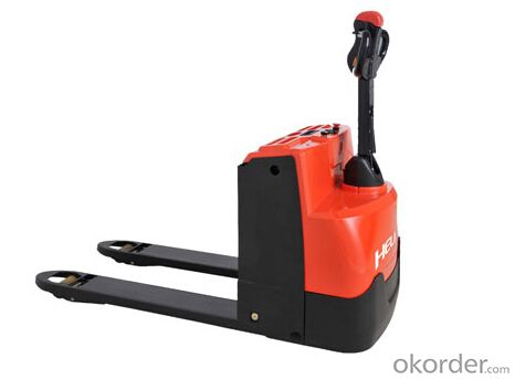 Forklift 2T Walking Type Electric Pallet Truck