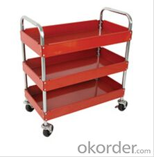 Service cart red color