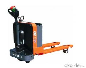 G Series 1-2.5T AC Electric Pallet Trucks