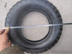 Wheelbarrow tube tire air tire