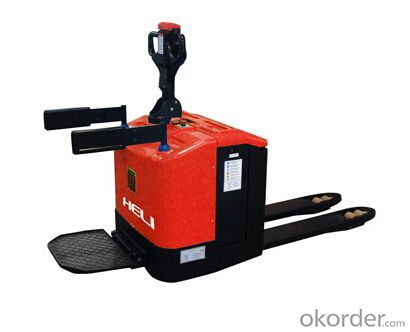 Forklift 2T Stand Operation Electric Pallet Truck