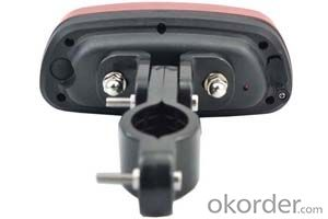 Taillight GPS tracker for bicycle