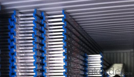 Scaffolding Aluminium Single straight Ladder