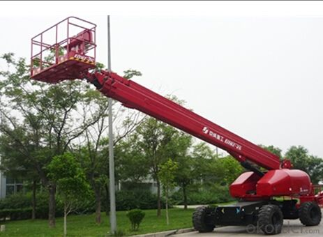 self propelled telescopic boom lift  GTBZ26/28