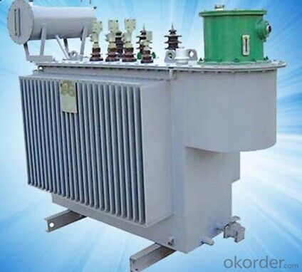 S9-M-30~2500/10KV Three Phase Oil Immersed All-sealed Power Transformer