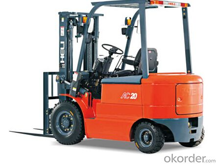 Forklift 1-2.5T AC Four-Wheel Electric Counterbalaned Forklift Trucks