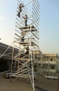 Aluminum Scaffolding Tower Construction