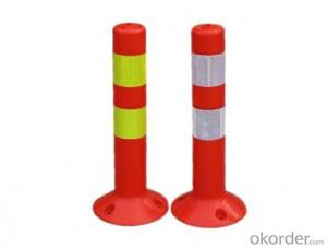 Warning post road safety flexible post,Warning post