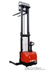 Heavy Mast Wide Leg Electric Stacker1.6T