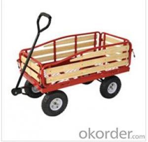 Garden tool cart red