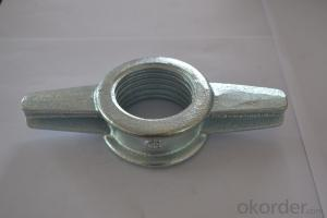 Best Quality Formwork butterfly wing nut