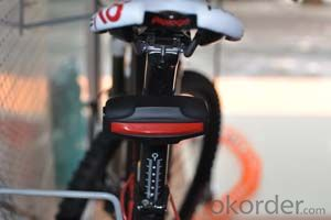 New bicycle GPS Tracker for tracking and protecting your bicycle, Patented Tail Light Design