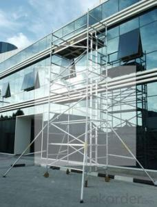 Aluminum Scaffolding On Rental